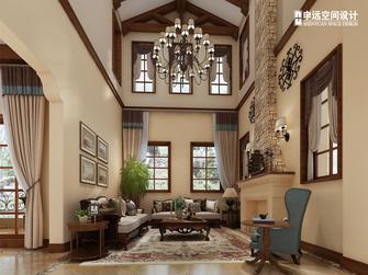 20万以上140平米别墅地中海风格客厅装修效果图