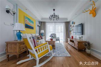 经济型80平米美式风格客厅装修案例