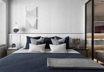 富裕型130平米三室一厅现代简约风格卧室装修图片大全