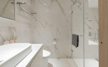 富裕型90平米日式风格卫生间设计图