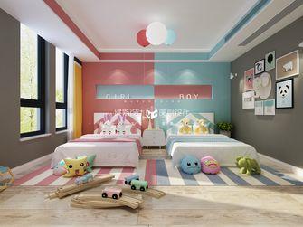 140平米别墅混搭风格青少年房设计图