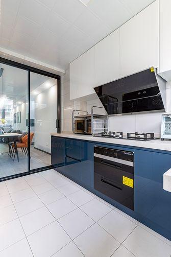 5-10万90平米现代简约风格厨房设计图