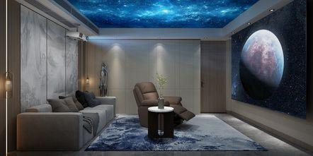 豪华型140平米别墅中式风格影音室图片大全