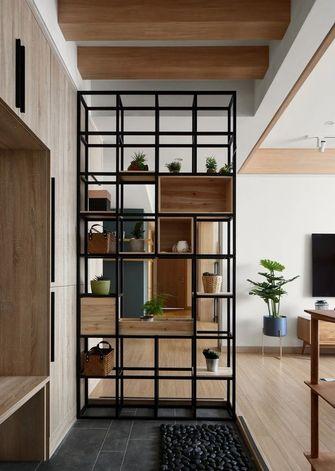 5-10万120平米三室一厅现代简约风格玄关效果图