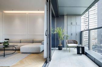 90平米三室两厅现代简约风格阳台效果图