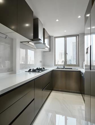 富裕型140平米三室两厅港式风格厨房装修案例