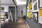 5-10万120平米三室两厅英伦风格玄关设计图