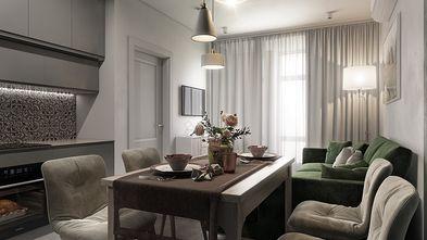 富裕型100平米四室两厅现代简约风格餐厅装修案例