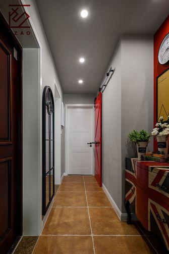 豪华型110平米三室两厅混搭风格走廊装修图片大全