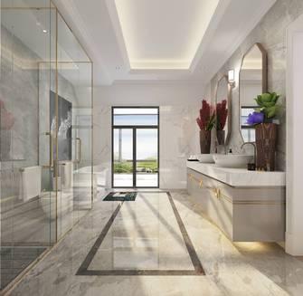 豪华型140平米别墅欧式风格卫生间装修效果图