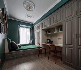 经济型120平米三室两厅轻奢风格书房图片大全