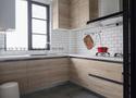 富裕型四室两厅北欧风格厨房图片