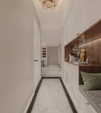 豪华型110平米三室一厅美式风格走廊装修案例