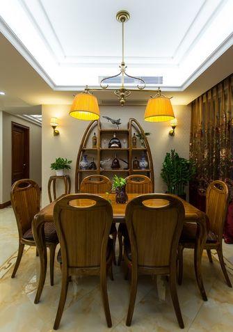 富裕型80平米三室两厅新古典风格餐厅设计图
