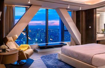 140平米复式轻奢风格卧室装修效果图
