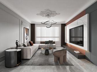 三室两厅现代简约风格客厅装修案例