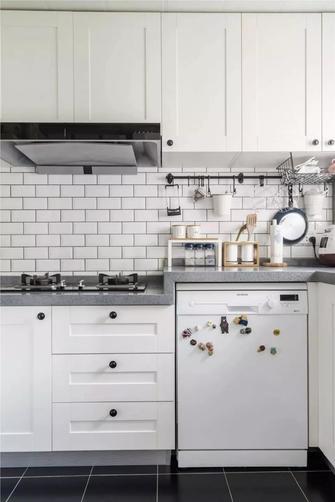 10-15万100平米三室两厅美式风格厨房图片
