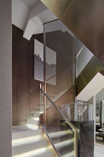 豪华型140平米四室两厅中式风格楼梯间装修图片大全