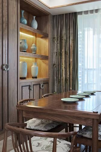 15-20万60平米公寓中式风格餐厅图
