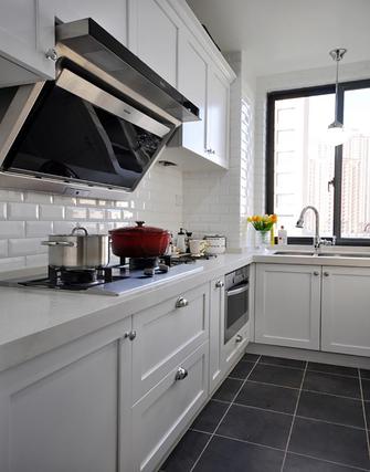 5-10万90平米北欧风格厨房装修案例