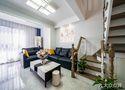 富裕型140平米四室一厅北欧风格客厅装修案例