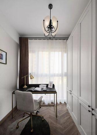 15-20万110平米三室两厅轻奢风格书房欣赏图