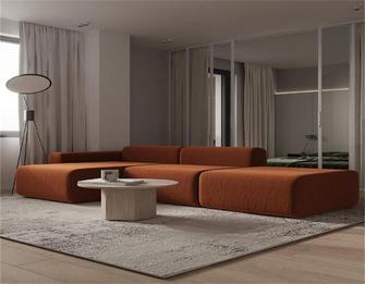 经济型一室一厅混搭风格客厅装修效果图