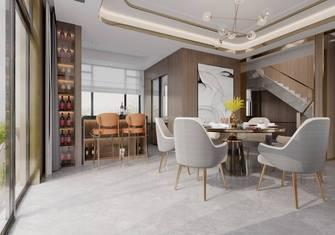 140平米别墅港式风格餐厅图片大全