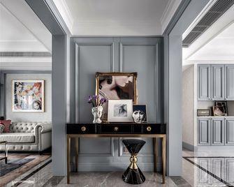 富裕型130平米三室一厅美式风格玄关图