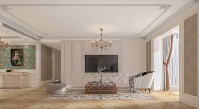130平米四室两厅欧式风格客厅装修案例