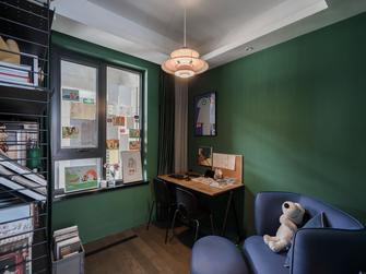 富裕型90平米三现代简约风格书房装修效果图