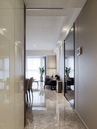 富裕型100平米三室一厅现代简约风格玄关装修案例