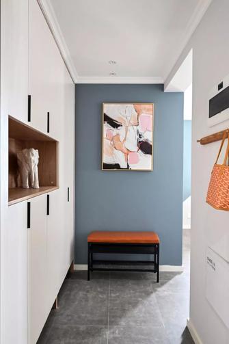 5-10万90平米三室两厅美式风格玄关图片大全