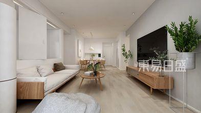 富裕型130平米四日式风格客厅图片