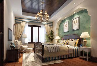 130平米三室两厅地中海风格卧室欣赏图