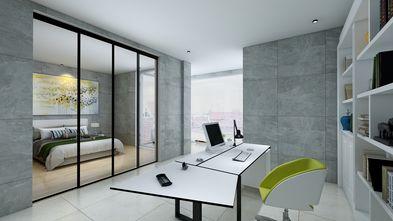 10-15万140平米三室两厅工业风风格书房设计图