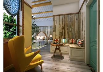 豪华型140平米别墅地中海风格玄关装修图片大全