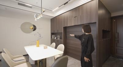 豪华型140平米三室两厅轻奢风格玄关装修图片大全