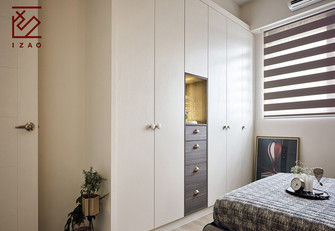 富裕型130平米三北欧风格卧室图片大全