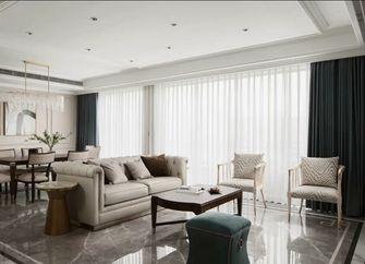 10-15万100平米三室一厅轻奢风格客厅图片