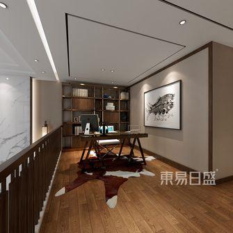 140平米复式中式风格书房图片