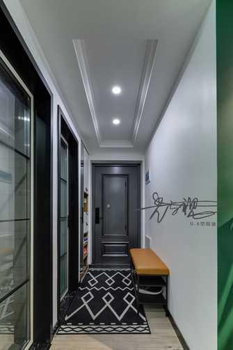 70平米三室三厅北欧风格玄关装修图片大全