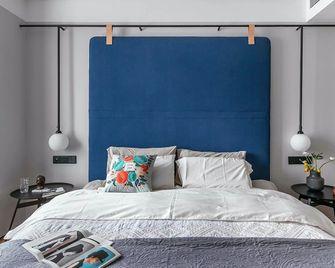 富裕型三室三厅北欧风格卧室图