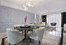 富裕型120平米三室两厅美式风格餐厅装修案例