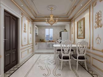 130平米三室两厅法式风格餐厅欣赏图