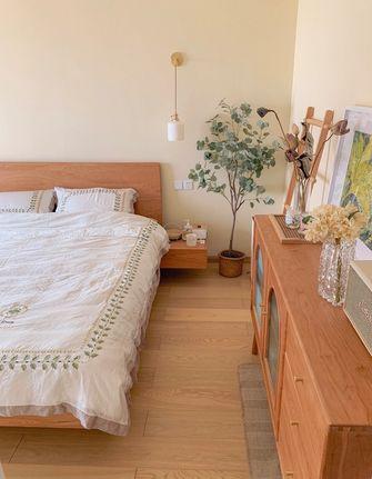经济型90平米三室两厅北欧风格卧室装修效果图