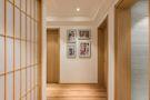 富裕型130平米三室两厅日式风格走廊装修效果图