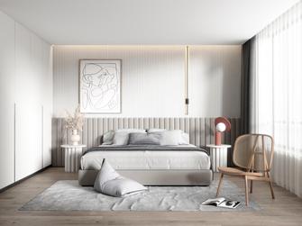 20万以上140平米三室两厅现代简约风格卧室装修案例
