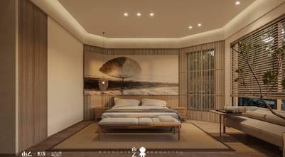 140平米三田园风格卧室欣赏图