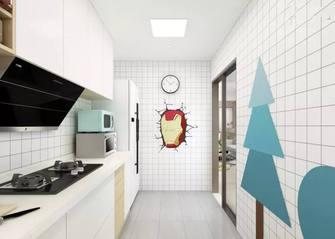 5-10万80平米现代简约风格厨房图片大全